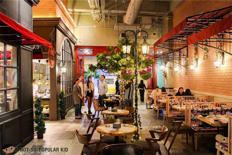 The Alley by Vikings Interior, Central Square, BGC