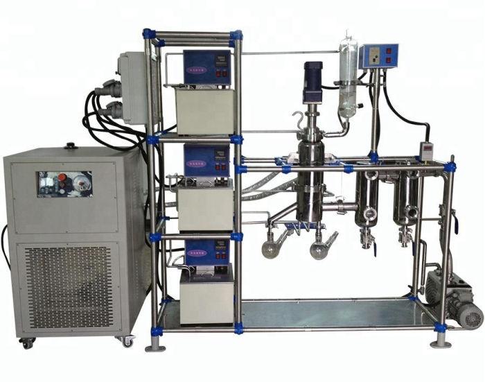 Equipo de destilación molecular