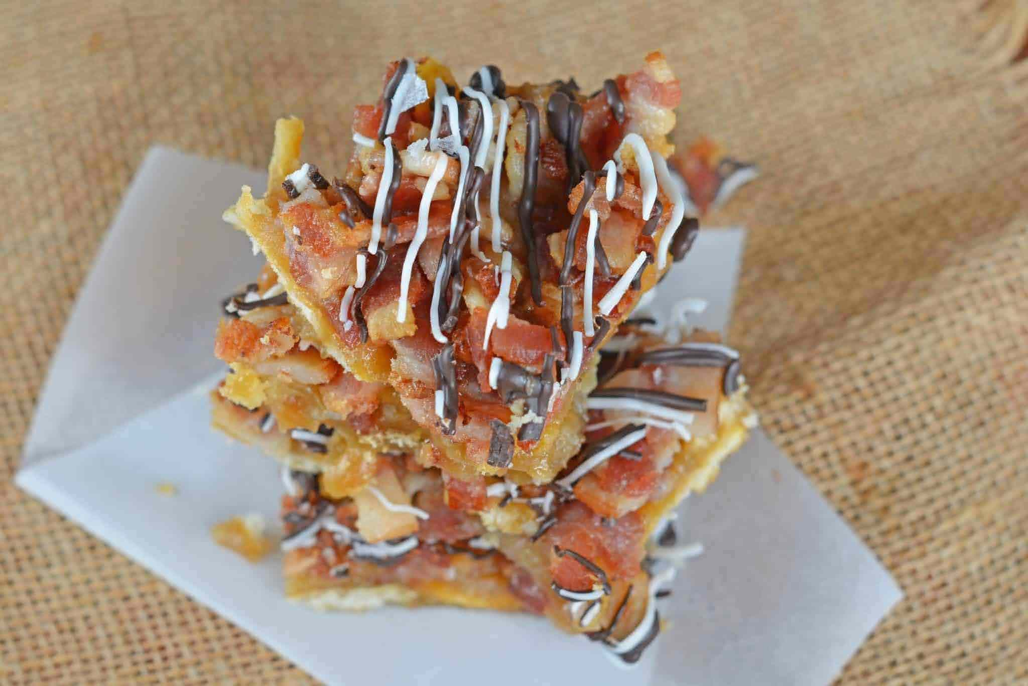 Chocolate Bacon Saltine Toffee | Photo Courtesy of Savory Experiments