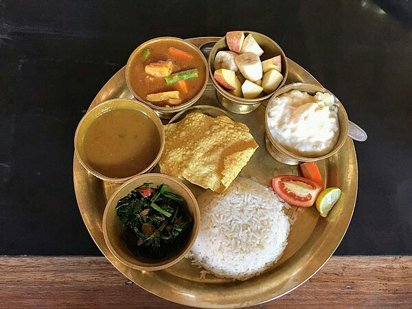 Nepali Dal Bhat