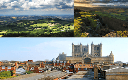 East Midlands England cities