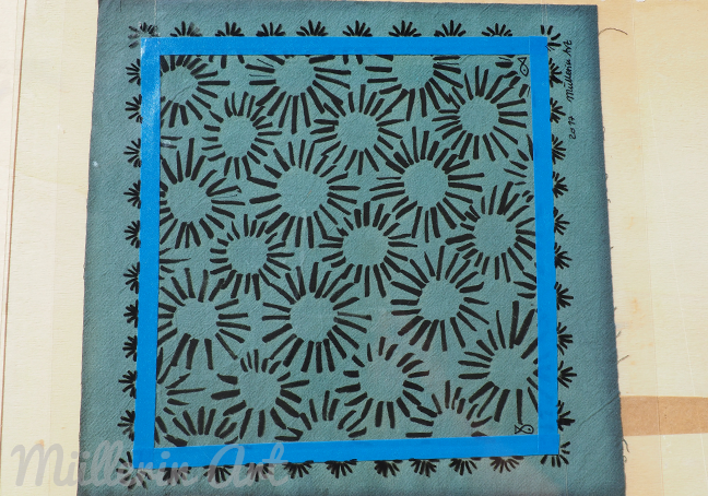 Cyanotypie © nach Müllerin Art