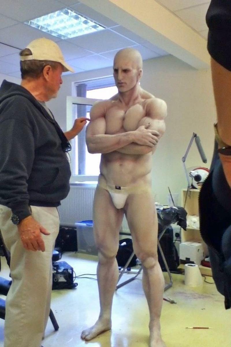 albino white man nude photos
