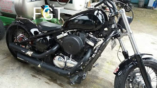 Dijual Vulcan 800c chopper th05....