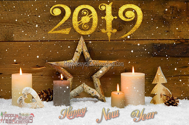 New Year 2019 Colourful Desktop Background Wallpapers in HD