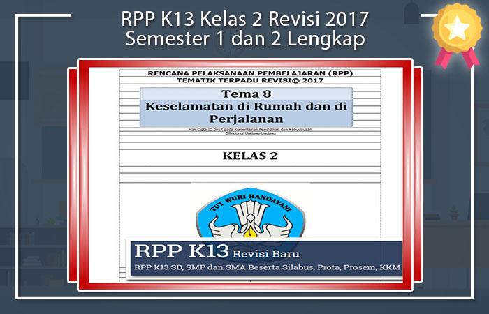 RPP K13 Kelas 2 Revisi 2017 Doc