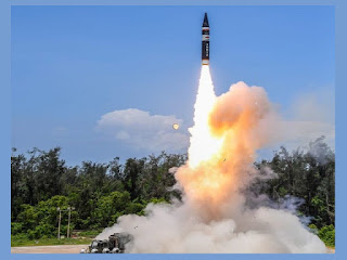 DRDO conducted Flight Test of 'Agni P'