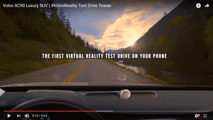віртуальна реальність-volvo