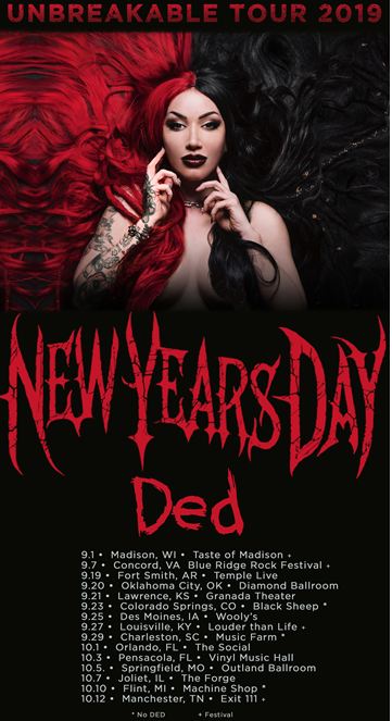 New Years Day Tour