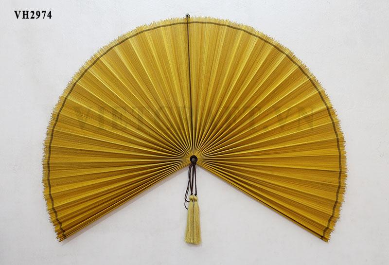 Bamboo Fan: Vietnamese Decorative Large bamboo fan