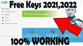 Eset Nod32 Antivirus License Key Until 2022 Ll Mobile And Pc License Activation Key