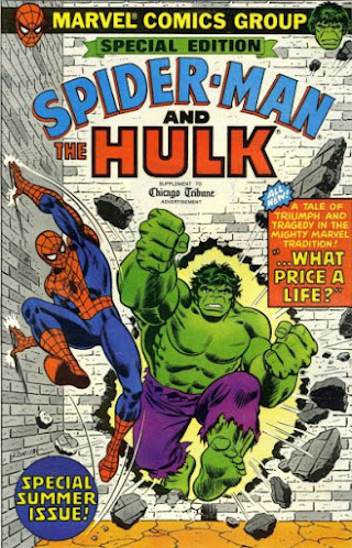 Special Edition #1, Spider-Man and Hulk