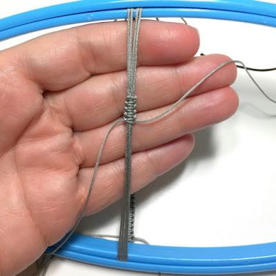 DIY Chinese Knotting Cord Sliding Knot for Bracelet