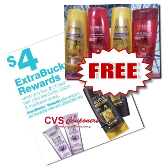FREE L'Oreal Elvive CVS Deal  5-26-6-1