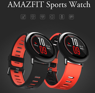 Xiaomi AMAZFIT Sports Smart Watch: Friends of Outdoor Activity and Could be Invited to Swim