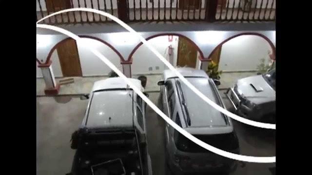 Hotel de lujo se desploma en Perú por las lluvias