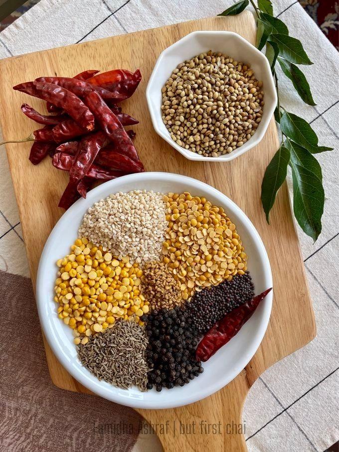 Sambar Powder Ingredients