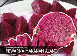 Pewarna makanan alami yang aman untuk dikonsumsi