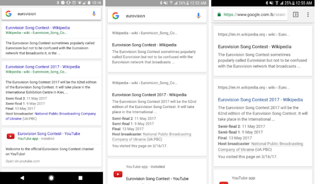 Google is Testing New User Interface/Look of Search App: We have Screenshots here