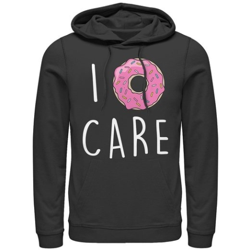 I Donut Care Hoodie