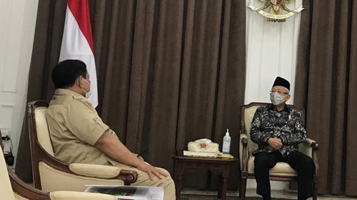 Hasil Survei Maruf Amin Mengejutkan, Prabowo Layak Jadi Wapres