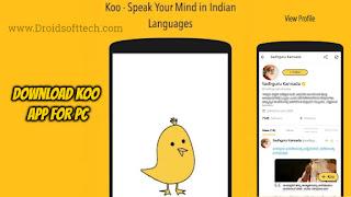 Koo App Download for PC