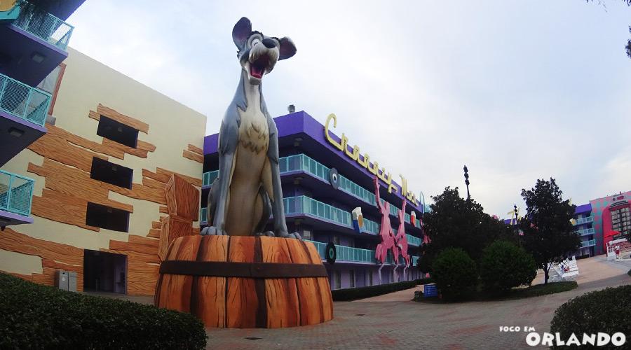 Disney's Pop Century Resort, um dos hotéis com o Service Your Way