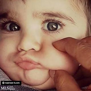 صور خدود اطفال