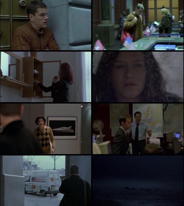 The Bourne Identity 2002 Dual Audio Hindi 480p BluRay