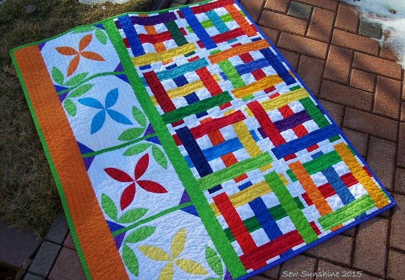 Project Quilting season 6 - #3 = Trellis