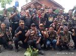 Biker's FKPPI 1015 Kota Cirebon Berikan Bantuan Kepada Korban Banjir Desa Karangtumaritis Haurgeulis
