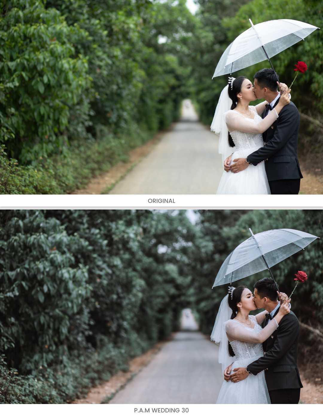 preset cưới đẹp