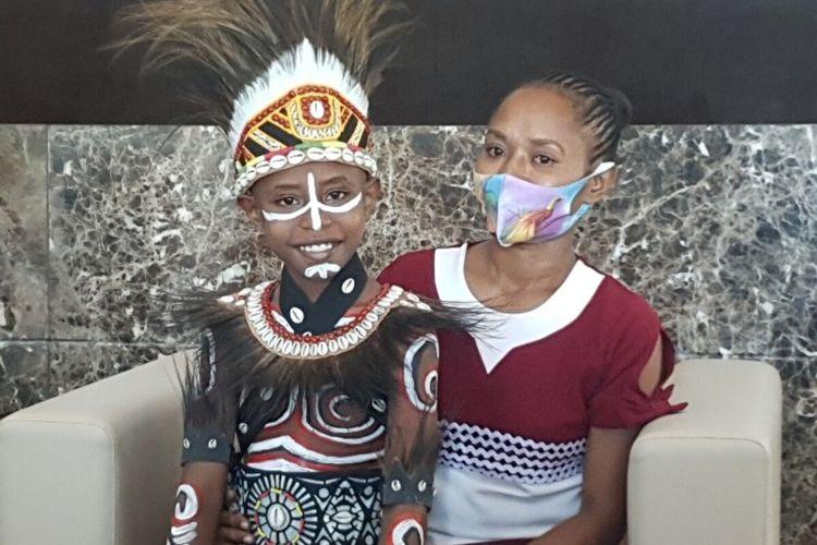 Cerita Agustinus, Anak Asal Papua di Uang Rp 75.000, Dipotret Saat Sakit Malaria