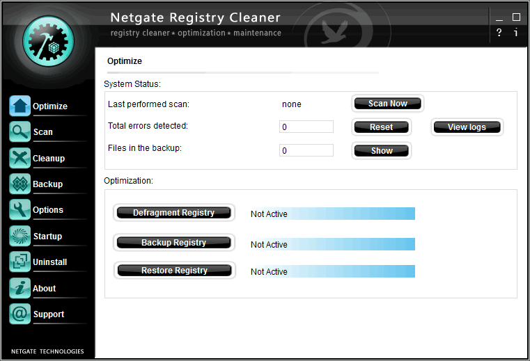 NETGATE Registry Cleaner Serial