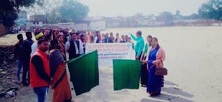 राजा श्री कृष्णदत्त पीजी कॉलेज के शिविराथियों ने निकाला कैशलेस जागरूकता रैली    #NayaSaberaNetwork