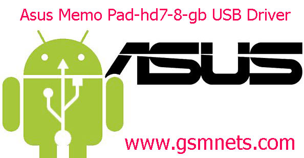 Asus Memo Pad-hd7-8-gb USB Driver Download