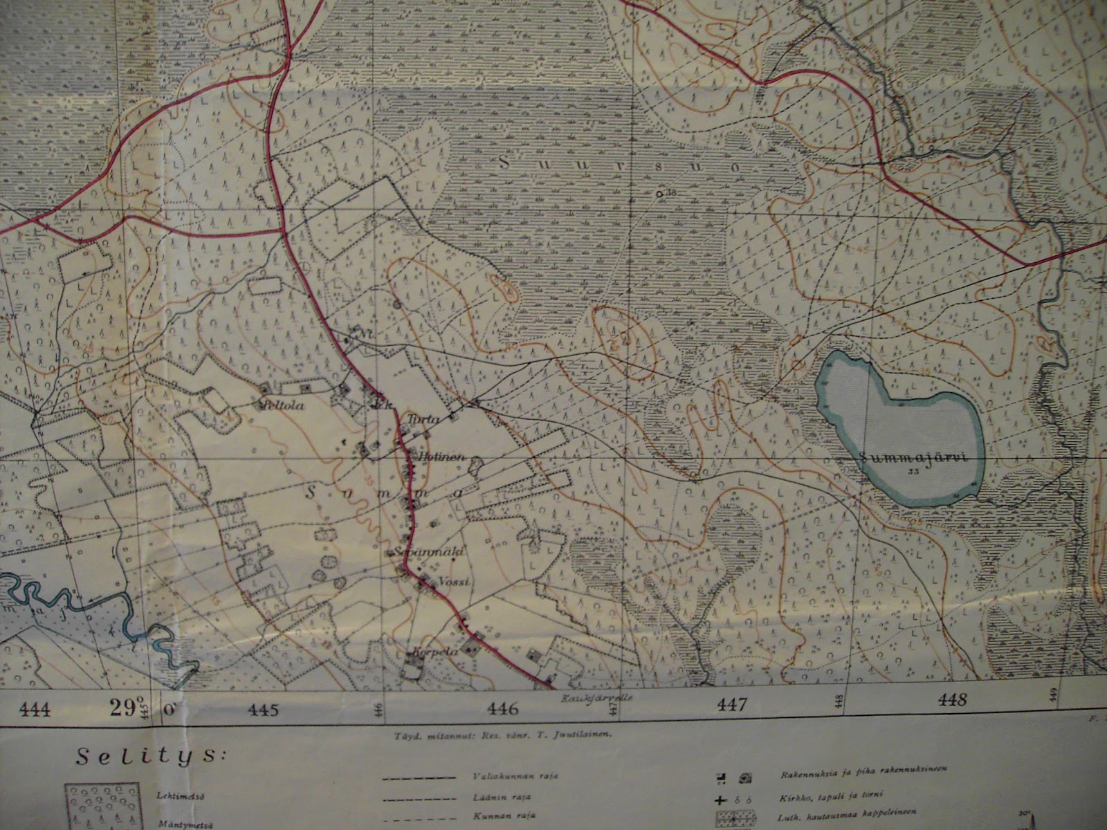 Sotiemme Kartat Summan Kartta
