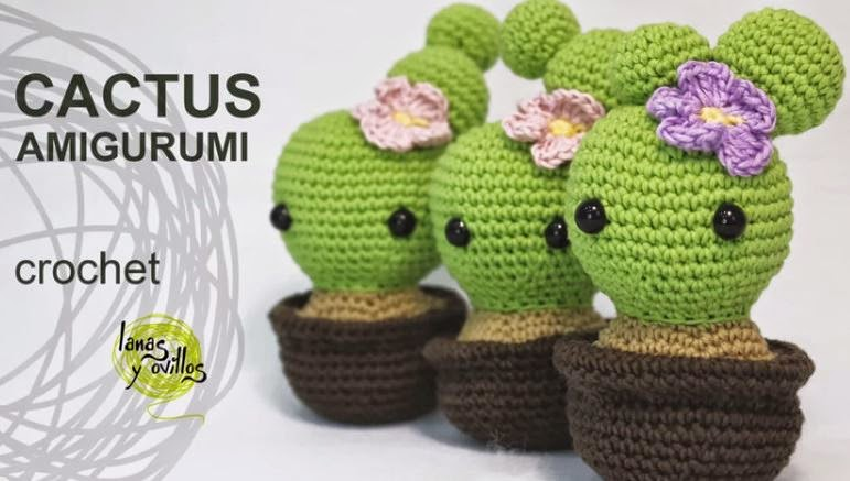 Amigurumi Cactus Redondo : anygurumi: CACTUSMANIA