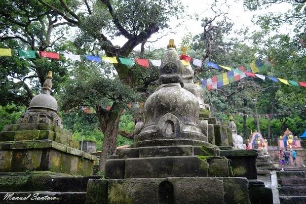 Swayambhunath, scalinata orientale