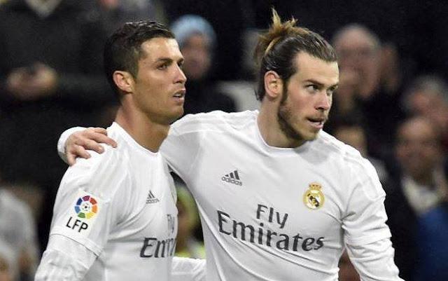 CR7 y Bale ya entrenan