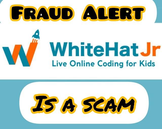 WhiteHat Jr में पैसा देकर अपने बच्चे का बचपन बर्बाद मत करिए।