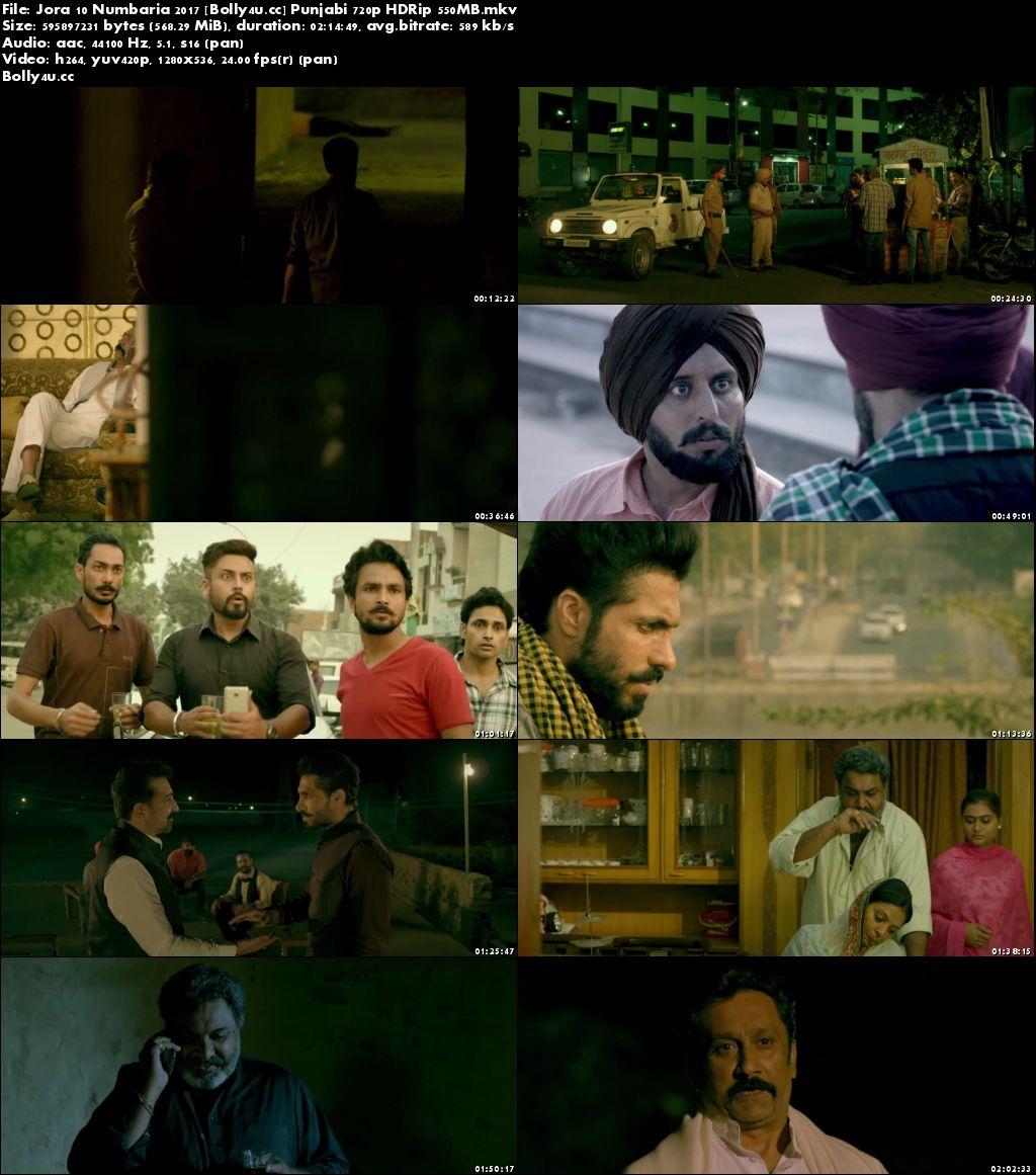 Jora 10 Numbaria 2017 HDRip 400Mb Punjabi 480p Download