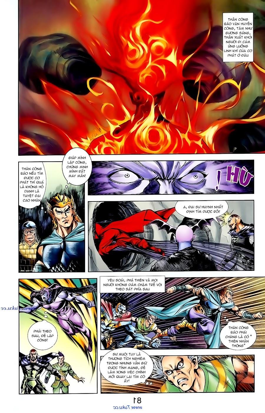Cơ Phát Khai Chu Bản chapter 98 trang 10