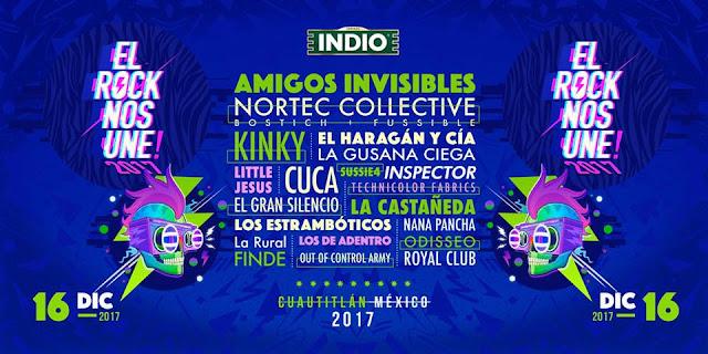 EL ROCK NOS UNE 2017
