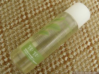The Face Shop - Green Tea Phyto Powder In Lip & Eye Remover