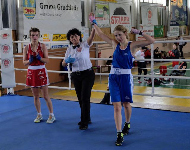 boks,kobiety,PZB,Maria Jackowska,Mistrzyni Polski,Grudziądz,U22,U23,