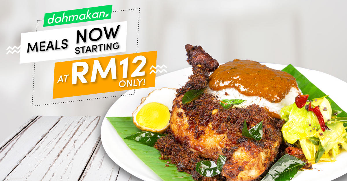 dahmakan: rm12 meals to make the year-end merry