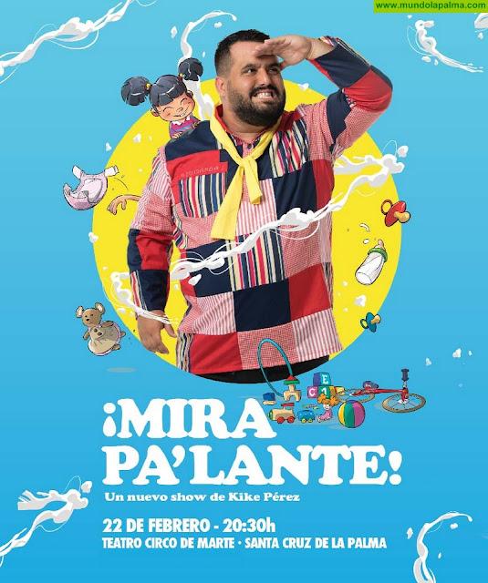 El humorista Kike Pérez estrena show en el Teatro Circo de Marte de La Palma