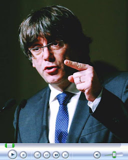 Carles Puigdemont pleads for dialogue with Madrid. Video footage from prison, in Germany