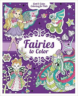 Fairies to Color: With 200 Stickers